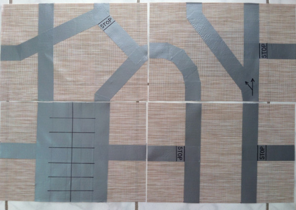 traffic mat
